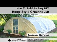 How To Build An Easy DIY Hoop-Style