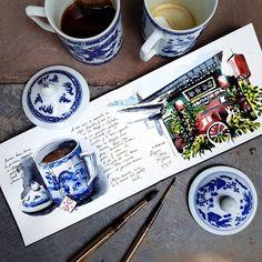 Watercolor Kit, Watercolor Sketchbook, Artist Sketchbook, Sketch Painting, Sketch Drawing, Travel Sketchbook, Sketch A Day, Sketchbook Inspiration, Urban Sketching