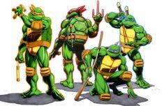 Ninja Turtles by JoseSnakes on deviantART