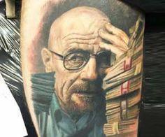 Walter White tattoo by Steve Butcher