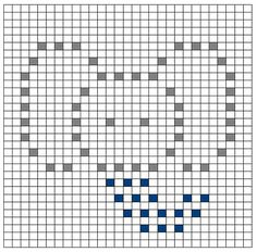 Ravelry: Elephant Bobble Chart by Kari Philpott