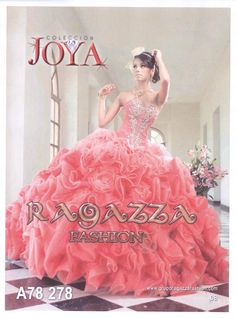 Quinceañera Dress - Sweet Sixteen Dress by Ragazza