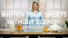 How to Whiten your Sheets Without Bleach - YouTube