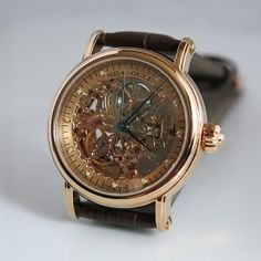 Sea-Gull M182SGK gold-colored skeleton automatic mechanical watch Skeleton Watches, Affordable Watches, Gull, Rose Gold Color, Mechanical Watch, Precious Metals, Gold Watch, Sea, Rose Gold Colour