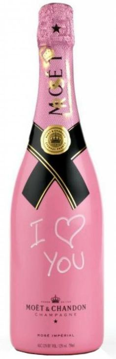 Tag Your Love - personaliseer deze Moet & Chandon Rose Imperial Graffitti Gift Set #champagne #valentijn #love