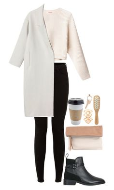 """""""Untitled #1213"""" by mel5-973 ❤ liked on Polyvore featuring Topshop, Monki, Maison Margiela, Pietro Alessandro, Michael Van Clarke and Monsoon"""