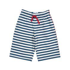 Kite shorts nautical stripes #biologische #eerlijke #kinderkleding verkrijgbaar op www.ekodepeko.nl