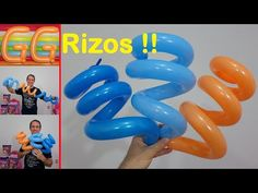 How to Make Balloon Curly - How to curl balloons - Balloon Curly Q Balloon Hat, Balloon Crafts, One Balloon, Balloon Flowers, Balloon Decorations Party, Balloon Centerpieces, Balloon Columns, Balloon Animals, Balloon Garland