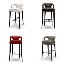 The latest Back bar stools Design ideas for restaurants and hotels BRABBUs-new-collection-The-newest-back-bar-chair-KAROO_Bar-chairs BRABBUs-new-collection-The-newest-back-bar-chair-KAROO_Bar-chairs Modern Counter Stools, Kitchen Counter Stools, Kitchen Chairs, Bar Chairs, Counter Chair, Modern Kitchen Interiors, Modern Interior, Kitchen Modern, Kitchen Post