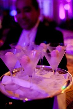 Drinks at the #Seabourn World Cruise Bon Voyage Gala