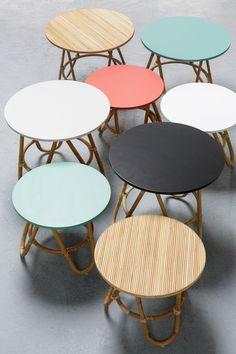 1000 id es sur le th me rotin sur pinterest osier chaises et chaises en rotin - Table basse en osier ...