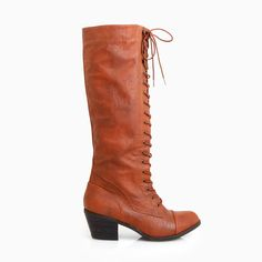 Lace-up Tall Boots >> Fantastic!