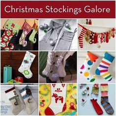 Ready for stuffed stockings? Make your own this #Christmas with these 24 easy #DIY ideas: