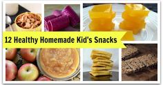 Share It!Share It! Do your kids ever get bored of the apple slices or ants on a log for snacks? Try these 12 healthy kid's snack recipes to spice things up! 1. Yogurt Fruit Leather- Thank Your Body 2. Grain-Free Crackers- Zenbelly 3. Sweet Potato Applesauce Mash- Stupid Easy Paleo 5. …