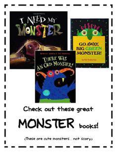 Tales of a Teacherista: Monster Mania