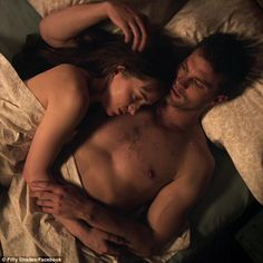 Heating things up: The trailer shows several steamy moments from the highly anticipated sequel which stars actors Dakota Johnson and Jamie Dornan
