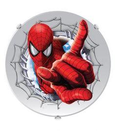 Plafon redondo Spiderman, Produtos, Startec Import - Iluminando sua Vida