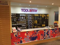 Tool Army power tools and hardware store in Chorley, Lancashire. Open to the trade and public