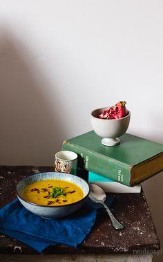 zupa dyniowa z miso