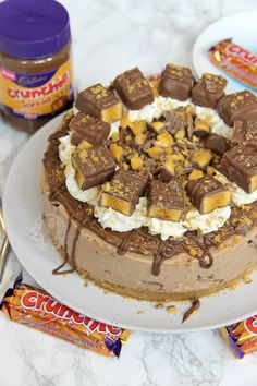 A Creamy, Chocolatey, Sweet, and delicious No-Bake Chocolate Cheesecake using Cadbury's Crunchies, Crunchie Spread, and even more Delicious – My favourite, Crunchie Cheesecake! Hi, I'm Jane,...