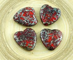 ✔ What's Hot Today: 2pcs Large Picasso Rustic Etched Silver Red Czech Glass Heart Beads Focal Pendant Valentines Wedding 22mm https://czechbeadsexclusive.com/product/2pcs-large-picasso-rustic-etched-silver-red-czech-glass-heart-beads-focal-pendant-valentines-wedding-22mm/?utm_source=PN&utm_medium=czechbeads&utm_campaign=SNAP #CzechBeadsExclusive #czechbeads #glassbeads #bead #beaded #beading #beadedjewelry #handmade