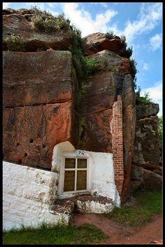 Rock Houses, Kinver Edge, Staffordshire, England