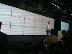 John Williams speaks at the Google day for agencies in London. www.firstpointdigital.co.uk