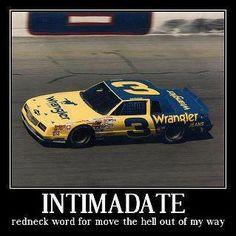 Intimadate. #DaleEarnhardtArt http://www.pinterest.com/jr88rules/dale-earnhardt-art/