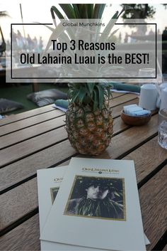 Looking for the BEST luau in Maui?  Look no further- read our Top 3 Reasons Old Lahaina Luau is the BEST & Most Authentic Hawaiian Luau we've been to. >   >   > Read more about Maui on our travel blog- www.GlobalMunchkins.com