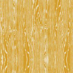 Joel Dewberry True Colors - Wood Grain/Faux Bois in Straw (Mustard Yellow) - 1 yard - PWTC008.Straw
