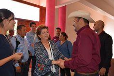 Visita Senadora Silvia Martínez municipio de Satevó
