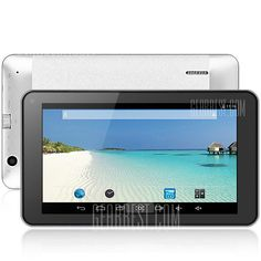 K7 Android 4.4 Tablet PC with 7 inch WVGA Screen $49.42