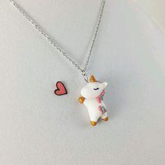 Unicorn necklace charm