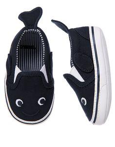OMG whale crib shoes