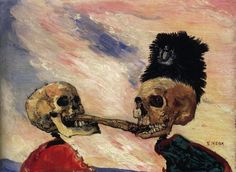The theatrical, the satirical and the macabre come together in arresting fashion in the art of James Ensor. Curated by Luc Tuymans, this exhibition presents a truly original body of work, seen through the eyes… James Ensor, Luc Tuymans, Dance Of Death, Royal Academy Of Arts, Danse Macabre, Vanitas, Museum Of Modern Art, Oeuvre D'art, Painting & Drawing