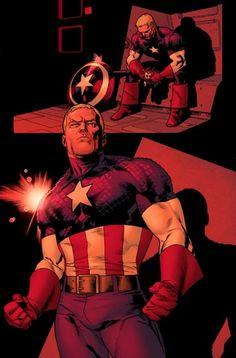 Captain America -Stuart Immonen