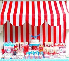 Circus Theme Birthday Party ideas