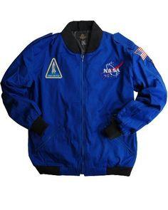 Nasa Astronaut Flight Jacket Alpha Industries, http://www.amazon.com/dp/B003SGTUZE/ref=cm_sw_r_pi_dp_eOiYqb0DDTAAY