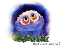 Little Owl by Eugenia Mandrugina