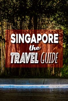 Planning to visit Singapore? What to do, where to stay, getting to Singapore, everything you need to know in THE Singapore Travel Guide.