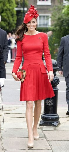 Kate Middleton at the Queen's Diamond Jubilee