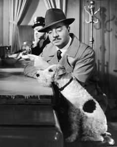 fastenyourseatbelts1900:  William Powell and Asta