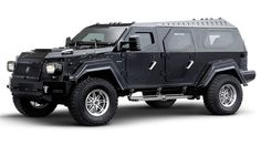 Knight Concept -fully armoured, luxury and dwarfs any Hummer