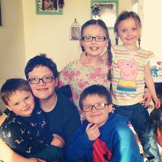Love my boys and my nieces the world