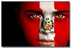 peruvian flag girl