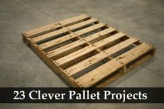 pallet projects, fun pallet