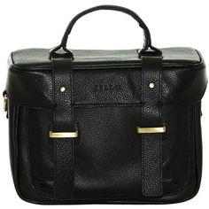 Jill-E Designs Juliette Leather Camera Bag (Black) 464057 B&H