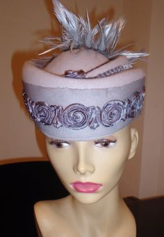 """""""Cleopatra"""" Felt  Hat  Couture Millinery"""