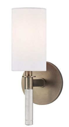 View the Hudson Valley Lighting 6311 Wylie 1 Light Wall Sconce at LightingDirect.com.  $236   12 x 5