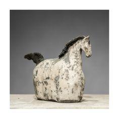 Suen soft. Heavenly horse raku ceramic by OnVaVoirLesBaleines